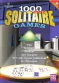 1000 Best Solitaire Games Windows Front Cover