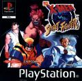X-Men vs. Street Fighter PlayStation Front Cover