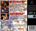 X-Men vs. Street Fighter PlayStation Back Cover