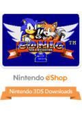 Sonic the Hedgehog 2 Nintendo 3DS Front Cover