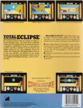 Total Eclipse Atari ST Back Cover