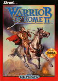 Warrior of Rome II Genesis Front Cover