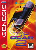 Top Gear 2 Genesis Front Cover
