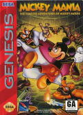 Mickey Mania Genesis Front Cover