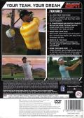 Tiger Woods PGA Tour 07 PlayStation 2 Back Cover