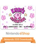 Kirby's Adventure Nintendo 3DS Front Cover