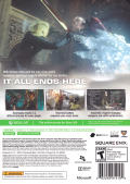 Lightning Returns: Final Fantasy XIII (Includes Bonus Cloud Strife's Uniform and Buster Sword DLC) Xbox 360 Back Cover