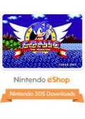 Sonic the Hedgehog Nintendo 3DS Front Cover