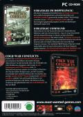 Strategic Command + Cold War Conflicts Windows Back Cover