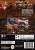 Star Wars: The Clone Wars GameCube Back Cover