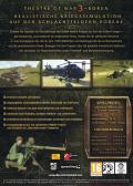 Theatre of War 3:  Korea Windows Back Cover