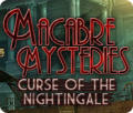 Macabre Mysteries: Curse of the Nightingale Macintosh Front Cover