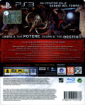 Prince of Persia: The Forgotten Sands (Limited Collector's Edition) PlayStation 3 Back Cover