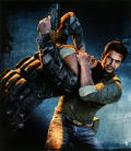 Uncharted 2: Among Thieves PlayStation 3 Inside Cover Left Flap