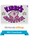 Kirby's Adventure Wii U Front Cover