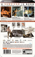 Tomb Raider (Collector's Edition) PlayStation 3 Back Cover