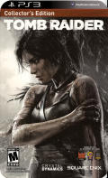 Tomb Raider (Collector's Edition) PlayStation 3 Front Cover
