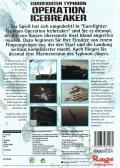Eurofighter Typhoon: Operation Icebreaker Windows Back Cover