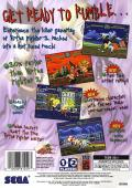 Virtua Fighter Kids SEGA Saturn Back Cover