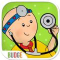 Caillou Check Up iPad Front Cover