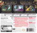 Heroes of Ruin Nintendo 3DS Back Cover