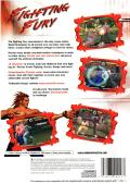 Fighting Fury PlayStation 2 Back Cover
