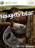Naughty Bear Xbox 360 Front Cover