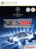 PES 2014: Pro Evolution Soccer Xbox 360 Front Cover