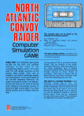 North Atlantic Convoy Raider Apple II Back Cover