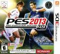 PES 2013: Pro Evolution Soccer Nintendo 3DS Front Cover