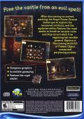 Echoes of the Past: The Castle of Shadows Windows Back Cover