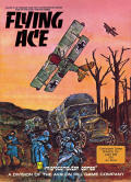 Flying Ace Atari 8-bit Front Cover