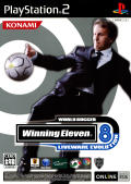 World Soccer: Winning Eleven 8 International PlayStation 2 Front Cover
