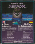 Missiles over Xerion Amiga Back Cover
