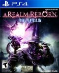 Final Fantasy XIV Online: A Realm Reborn PlayStation 4 Front Cover