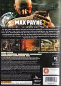 Max Payne 3 Xbox 360 Back Cover