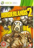 Borderlands 2 Xbox 360 Front Cover
