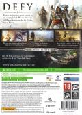 Assassin's Creed IV: Black Flag Xbox 360 Back Cover
