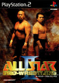 All Star Pro-Wrestling II PlayStation 2 Front Cover