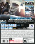 Watch_Dogs (PS4 Exclusive Edition) PlayStation 4 Back Cover