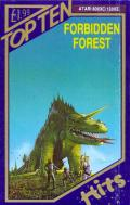 Forbidden Forest Atari 8-bit Front Cover