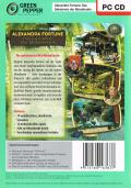 Alexandra Fortune: Mystery of the Lunar Archipelago Windows Back Cover