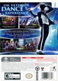 Michael Jackson: The Experience Wii Back Cover
