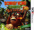 Donkey Kong Country Returns 3D Nintendo 3DS Front Cover