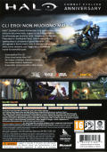 Halo: Combat Evolved Anniversary Xbox 360 Other Keep case - back