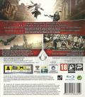 Assassin's Creed II PlayStation 3 Back Cover