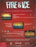 Fire & Ice DOS Back Cover