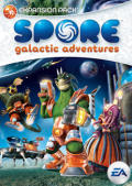 Spore: Galactic Adventures Windows Front Cover