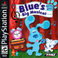 Blue's Clues: Blue's Big Musical PlayStation Front Cover