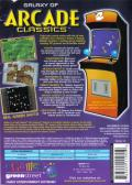 Galaxy of Arcade Classics Windows Back Cover